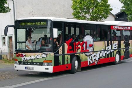 Tatort-Tour im Krimibus